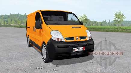 Renault Trafic Van (X83) 2001 para Farming Simulator 2017