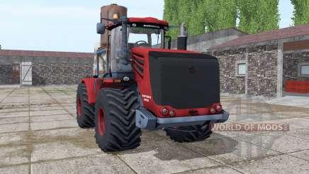 Kirovets 9450 rojo oscuro para Farming Simulator 2017
