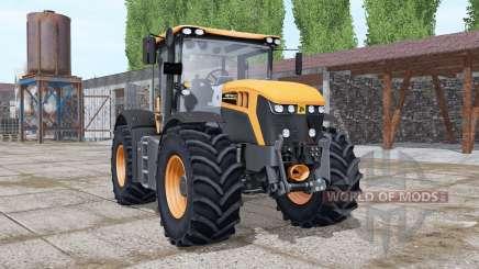 JCB Fastrac 4220 orange more options para Farming Simulator 2017