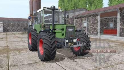 Fendt Favorit 612 LSA Turbomatik E washable para Farming Simulator 2017