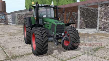Fendt Favorit 818 wide tyre para Farming Simulator 2017