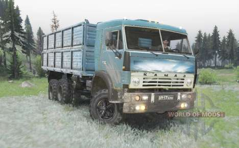 KamAZ 5320 v3.0 para Spin Tires