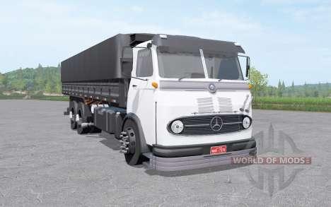 Mercedes-Benz LP 321 3-axle v1.1 para Farming Simulator 2017