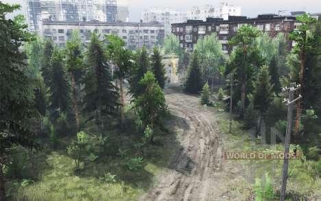 EMERCOM de Rusia - la Misión de Remolques para Spin Tires