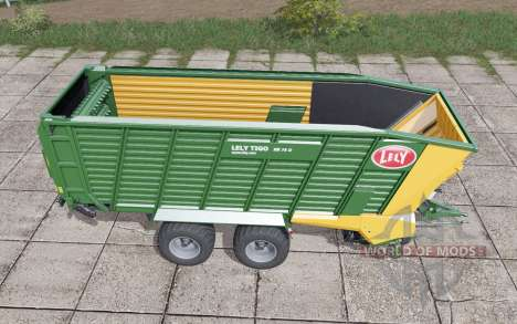 Lely Tigo XR 75 D dark lime green para Farming Simulator 2017