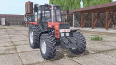 Belarús MTZ 892.2 suave-rojo para Farming Simulator 2017