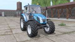 New Holland T4.75 blue para Farming Simulator 2017