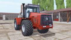 Kirovets K-744R3 moderadamente rojo para Farming Simulator 2017