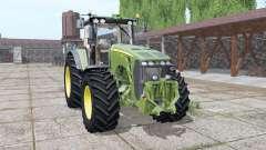 John Deere 8530 green para Farming Simulator 2017