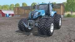 New Holland T8.435 twin wheels para Farming Simulator 2015