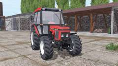 Zetor 5340 soft red para Farming Simulator 2017