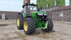John Deere 7270R green para Farming Simulator 2017