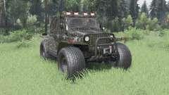3151 UAZ TREKOL para Spin Tires