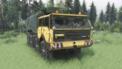 Tatra T813 TP 8x8 1967 v1.2 para Spin Tires