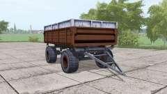 2ПТС-6 marrón oscuro para Farming Simulator 2017