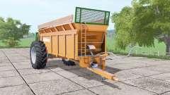 Dangreville SV para Farming Simulator 2017