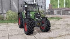 Fendt 412 Vario TMS interactive control para Farming Simulator 2017