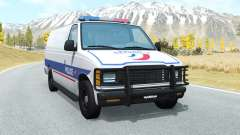 Gavril H-Series Police Nationale para BeamNG Drive