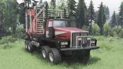 Western Star 6900TS para Spin Tires