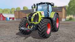 CLAAS Axion 850 bright yellow para Farming Simulator 2015