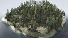 Arkham Island para MudRunner