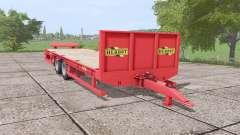 Herbst 24FT low loader para Farming Simulator 2017
