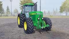 John Deere 4455 twin wheels para Farming Simulator 2013