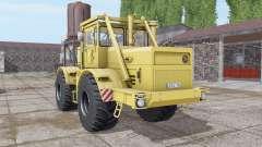 Kirovets K-700A color amarillo suave para Farming Simulator 2017