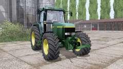 John Deere 6810 dual rear para Farming Simulator 2017