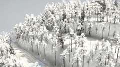 Frogs Snow Mountain para MudRunner