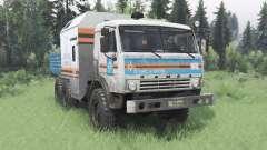 KamAZ 43114 MOE para Spin Tires