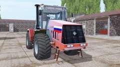 Kirovets K-744R3 de color rojo brillante para Farming Simulator 2017