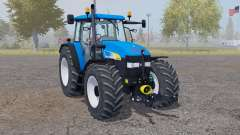 New Holland TM 175 vivid blue para Farming Simulator 2013