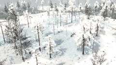 Winter Swamp para MudRunner