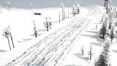 Snow Track Racing para MudRunner
