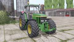 John Deere 7810 wide tyre para Farming Simulator 2017