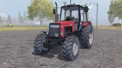 MTZ-1221 Belarús rojo para Farming Simulator 2013