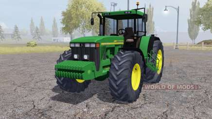John Deere 8410 front weight para Farming Simulator 2013