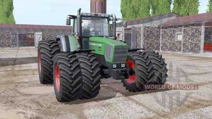 Fendt Favorit 818 green special para Farming Simulator 2017