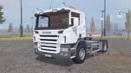 Scania P420 4x4 tractor 2004 para Farming Simulator 2013
