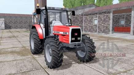 Massey Ferguson 6160 v2.0 para Farming Simulator 2017