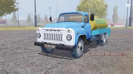 GAZ 53 Leche para Farming Simulator 2013