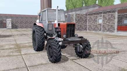 MTZ 82 Belarús Turbo para Farming Simulator 2017