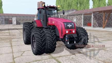 Belarús 3522 elección de las ruedas para Farming Simulator 2017
