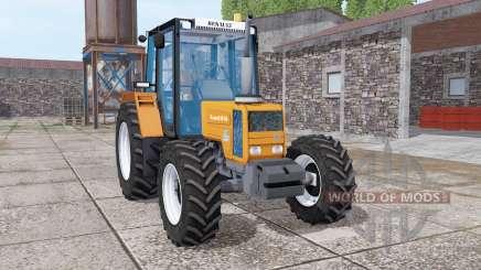 Renault 90-34 bright orange para Farming Simulator 2017