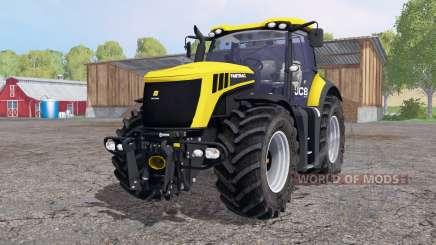 JCB Fastrac 8310 de color amarillo brillante para Farming Simulator 2015
