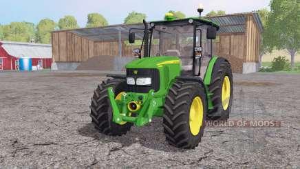 John Deere 5080M loader mounting para Farming Simulator 2015