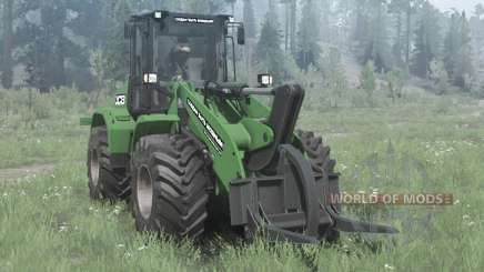 New Holland W170C green para MudRunner