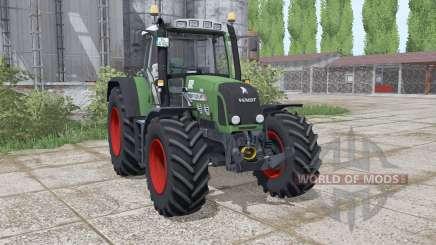 Fendt 820 Vario TMS loader mounting para Farming Simulator 2017