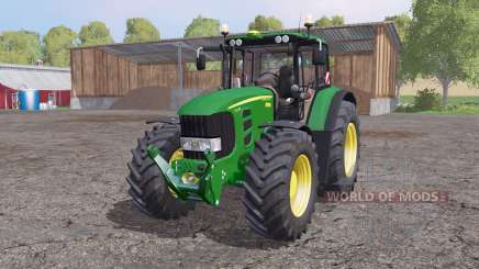 John Deere 7530 Premium animation parts para Farming Simulator 2015